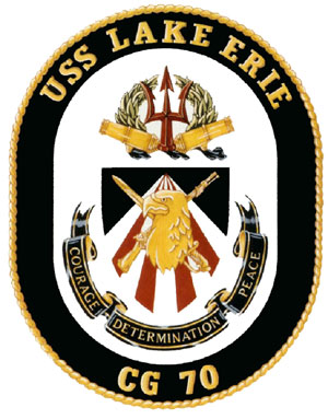 USS Lake Erie (CG-70) Crest