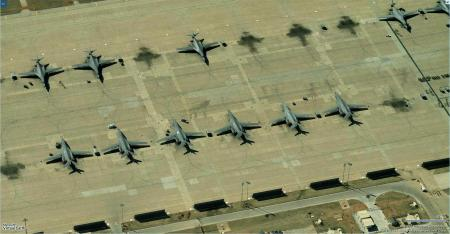 B-1B's at Dyess AFB