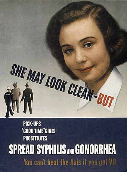 WWII VD Poster