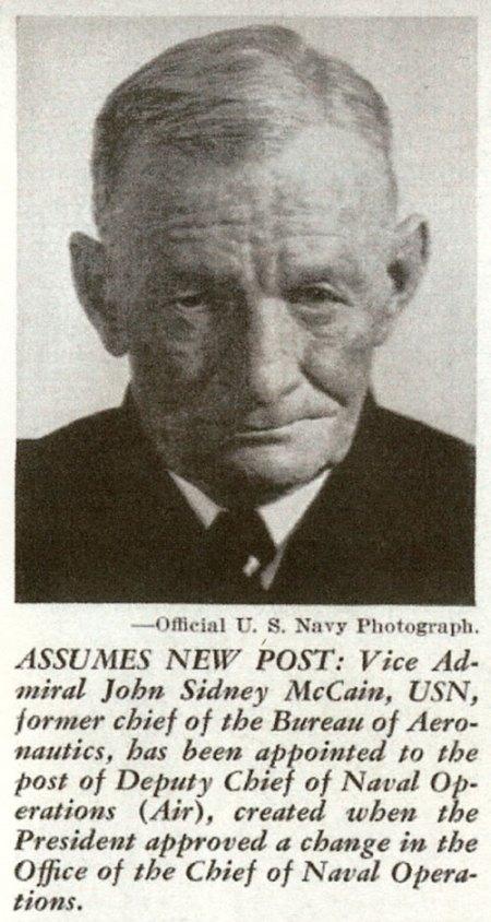 Vice-Admiral John S. McCain