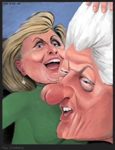 The Clintons by Stephen Pitt