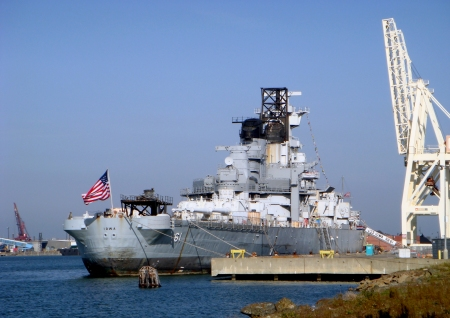 USS Iowa - BB-61