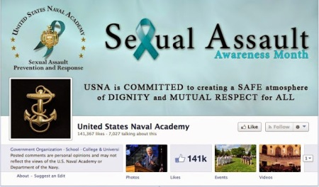 Sexual Assault Month at the Naval Academy
